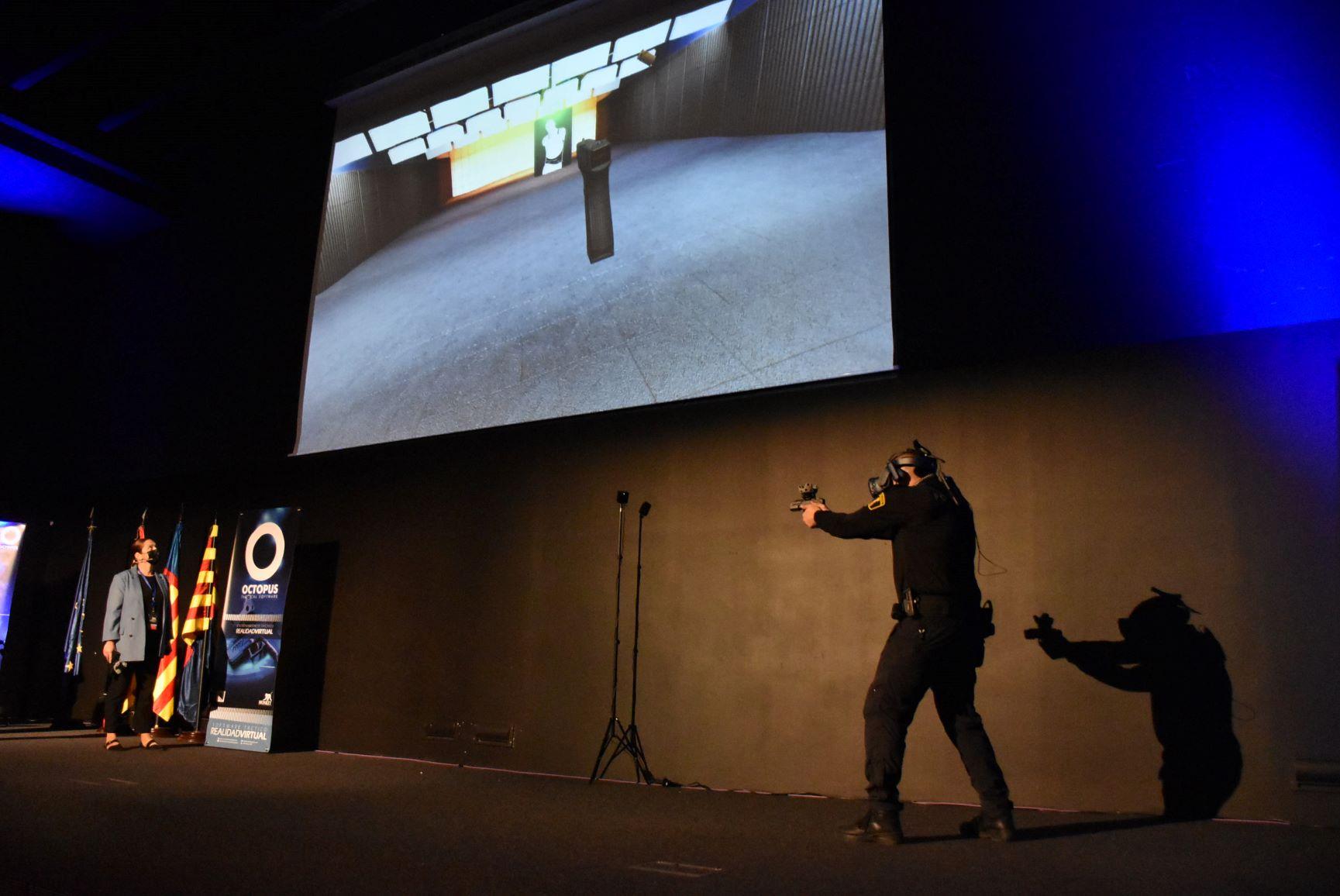 entrenamiento táctico basado en realidad virtual