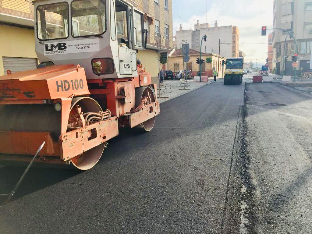 asfaltado calles Torrellano