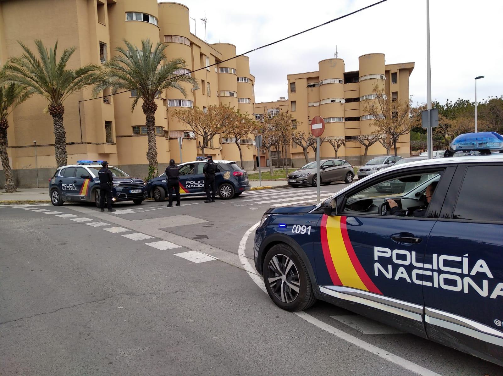 Policía Nacional barrio Palmerales Esto es Elche