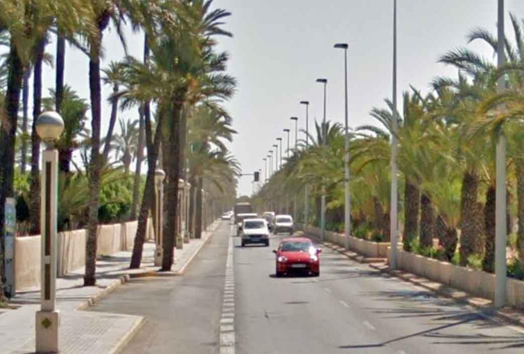 Avenida del alcalde Vicente Quiles, Elche