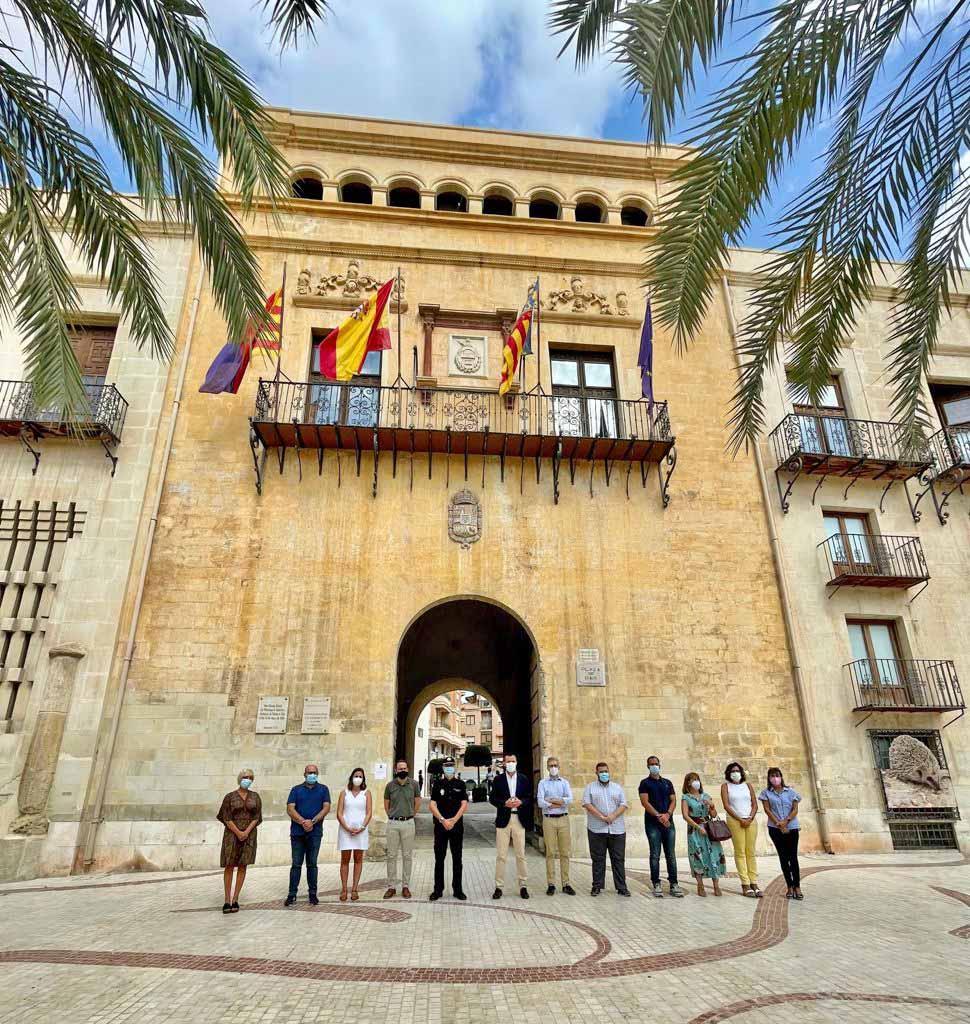 El Ayuntamiento de Elche condena el último asesinato machista en La Vila Joiosa