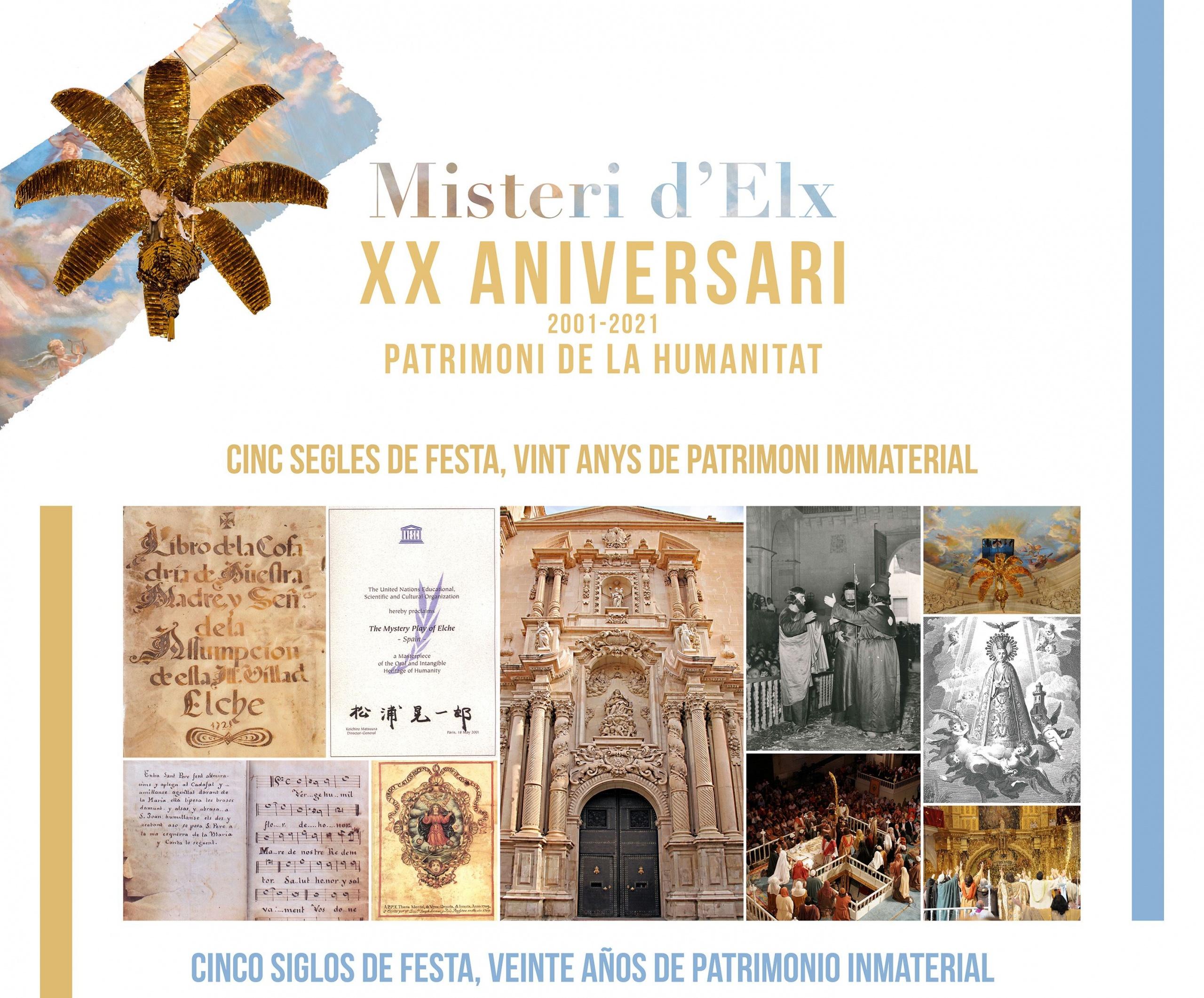 XX aniversario del Misteri como patrimonio Unesco